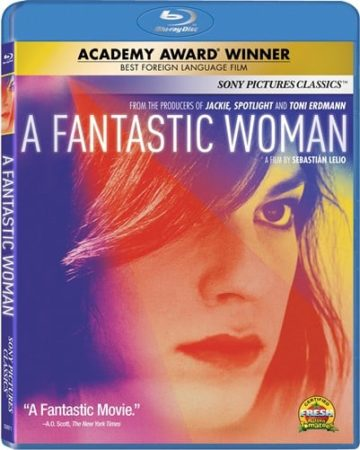 Academy Award Winner, A FANTASTIC WOMAN Arrives on Blu-ray & Digital May 22 3