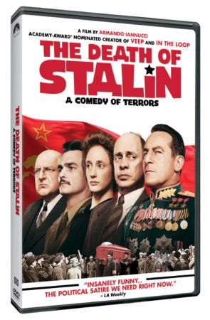 THE DEATH OF STALIN comes to DVD & Digital June 19th 3