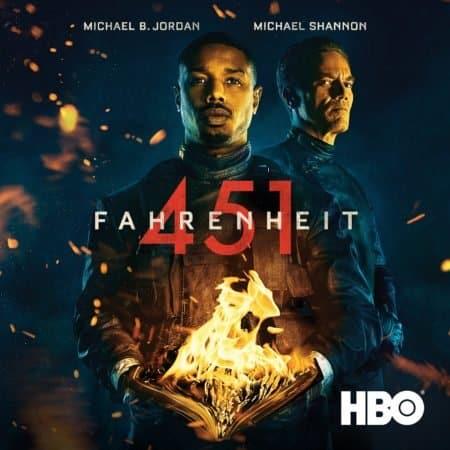 Michael B. Jordan & Michael Shannon Star in HBO's Film FAHRENHEIT 451, Available for Digital Download 6/18 & Blu-ray/DVD 9/18 1