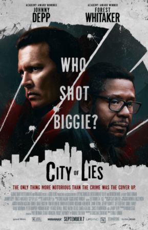 CITY OF LIES lands a new poster! 1