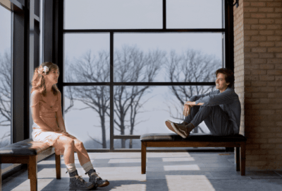 Five Feet Apart starring Haley Lu Richardson & Cole Sprouse offers up a first look! 25