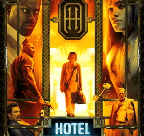 HOTEL ARTEMIS - NEW Posters & Character Trailer - Who's Who in This Amazing Ensemble Cast 56