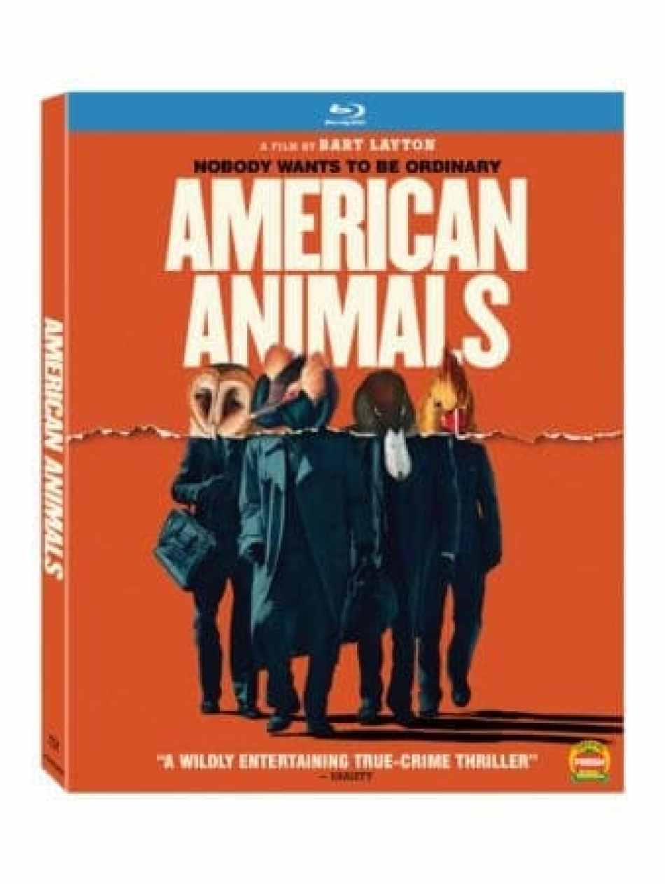SUNDAY NEWS ROUNDUP: American Animals on Blu-ray, GAME GIRLS premiere at OUTFEST LA, Bleeding Steel in theaters 18
