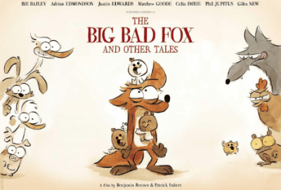 English Cast Revealed for THE BIG BAD FOX & OTHER TALES | Directed by Benjamin Renner & Patrick Imbert 5