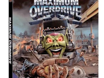 MAXIMUM OVERDRIVE on Blu-ray 10/23 43
