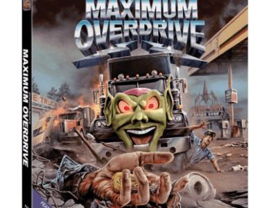 MAXIMUM OVERDRIVE on Blu-ray 10/23 11