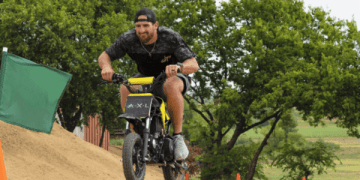Dude Perfect Dirt Bike Battle | A.X.L. In Theaters August 24th 5