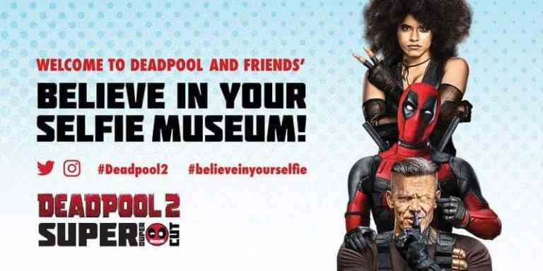 "Deadpool ""Believe in Your Selfie Museum"" Comes to NYC 1"