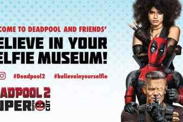 """Deadpool """"Believe in Your Selfie Museum"""" Comes to NYC 19"""