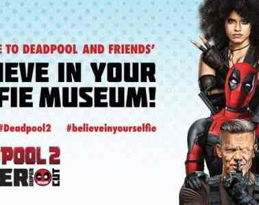 "Deadpool ""Believe in Your Selfie Museum"" Comes to NYC 17"