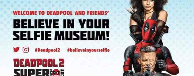 "Deadpool ""Believe in Your Selfie Museum"" Comes to NYC 3"