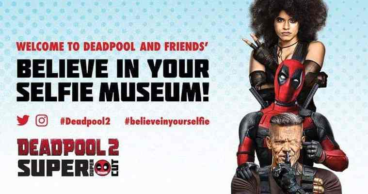 """Deadpool """"Believe in Your Selfie Museum"""" Comes to NYC 3"""