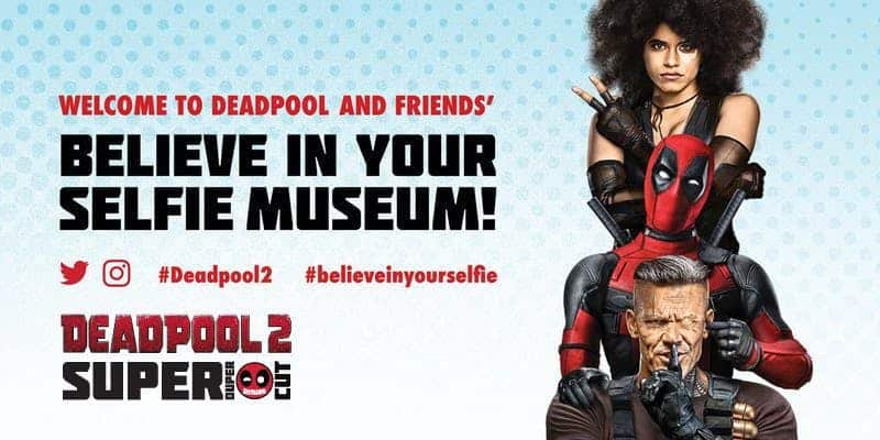 """Deadpool """"Believe in Your Selfie Museum"""" Comes to NYC 1"""