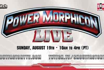 Shout! Factory TV & Twitch to Livestream 'Power Morphicon LIVE' August 19 from the Anaheim Convention Center 25