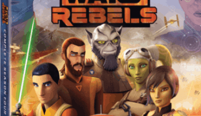 STAR WARS REBELS: THE COMPLETE SEASON FOUR 8