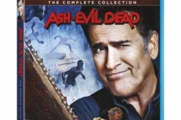 ASH VS EVIL DEAD THE COMPLETE COLLECTION on Blu-ray & DVD 10/16 8