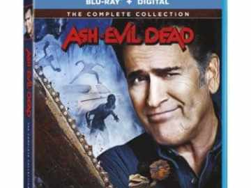 ASH VS EVIL DEAD THE COMPLETE COLLECTION on Blu-ray & DVD 10/16 47
