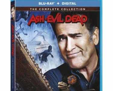 ASH VS EVIL DEAD THE COMPLETE COLLECTION on Blu-ray & DVD 10/16 15