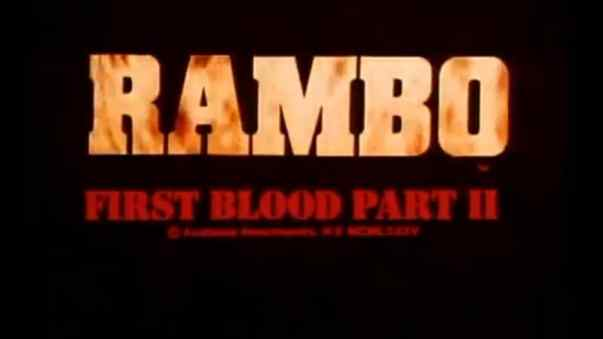 first blood II