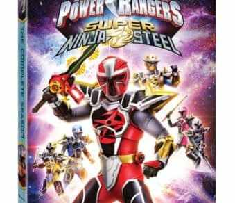 Power Rangers Super Ninja Steel: The Complete Season arrives on DVD, Digital and On Demand 2/5 8