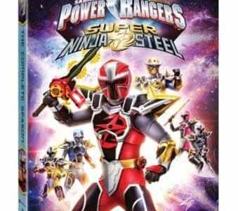 Power Rangers Super Ninja Steel: The Complete Season arrives on DVD, Digital and On Demand 2/5 3