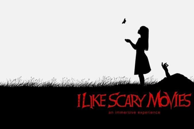 I Like Scary Movies: Interactive Art Installation 1