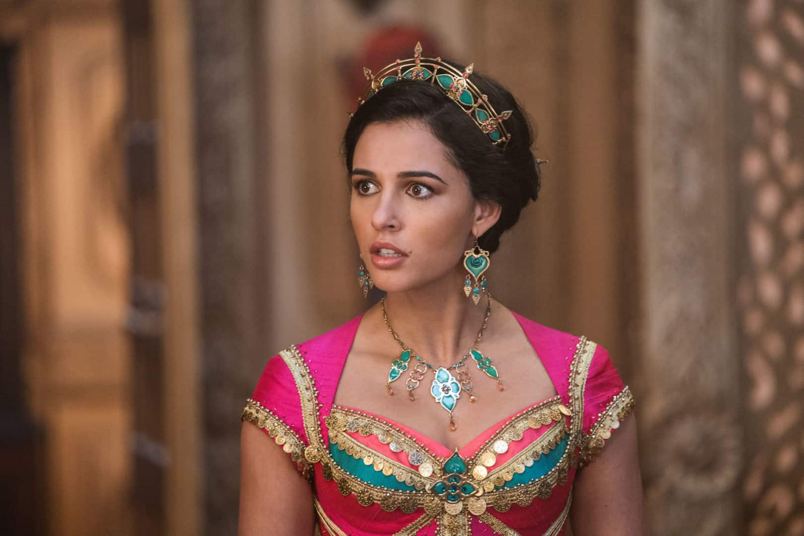 Aladdin 2019 Naomi Scott