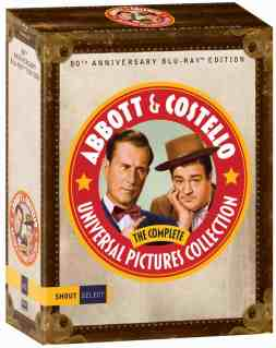 Abbott and Costello Blu-ray Shout Factory