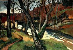 Paysage au pont (1922)
