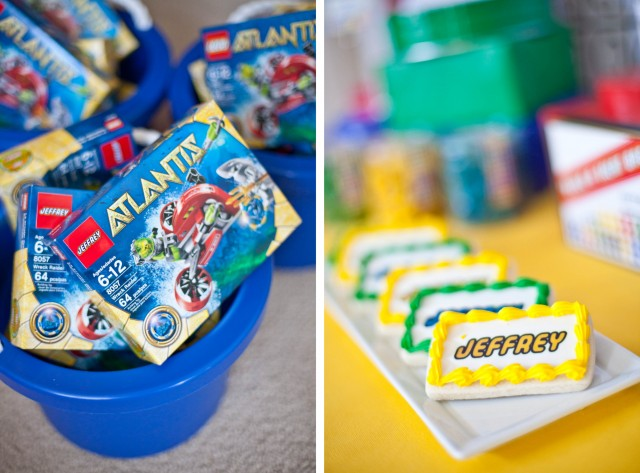 Part 2 Jeffreys Modern Lego Party Favors And Decor