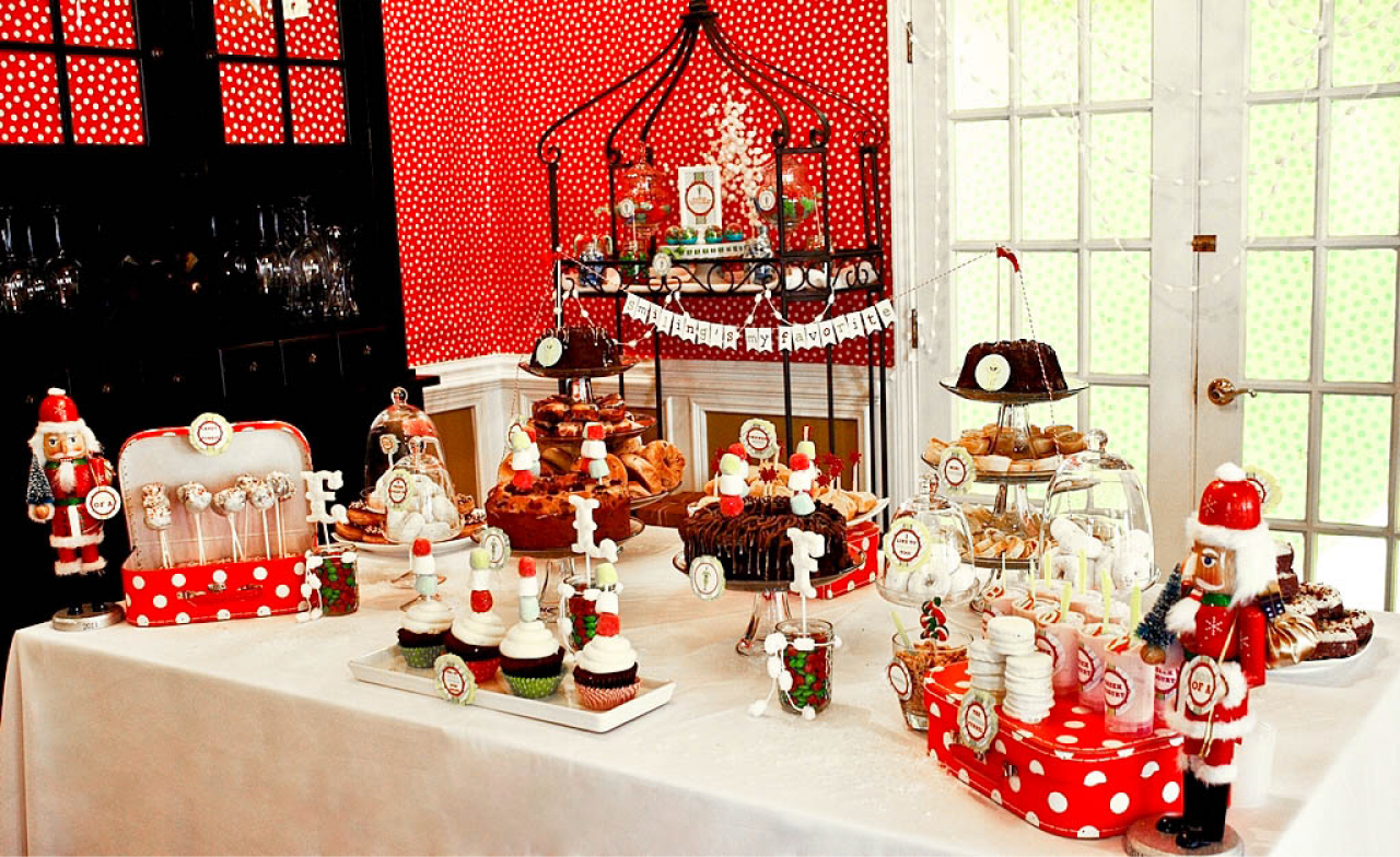 Buddy the Elf Themed Brunch Party by Deliciously Darling Events     Here