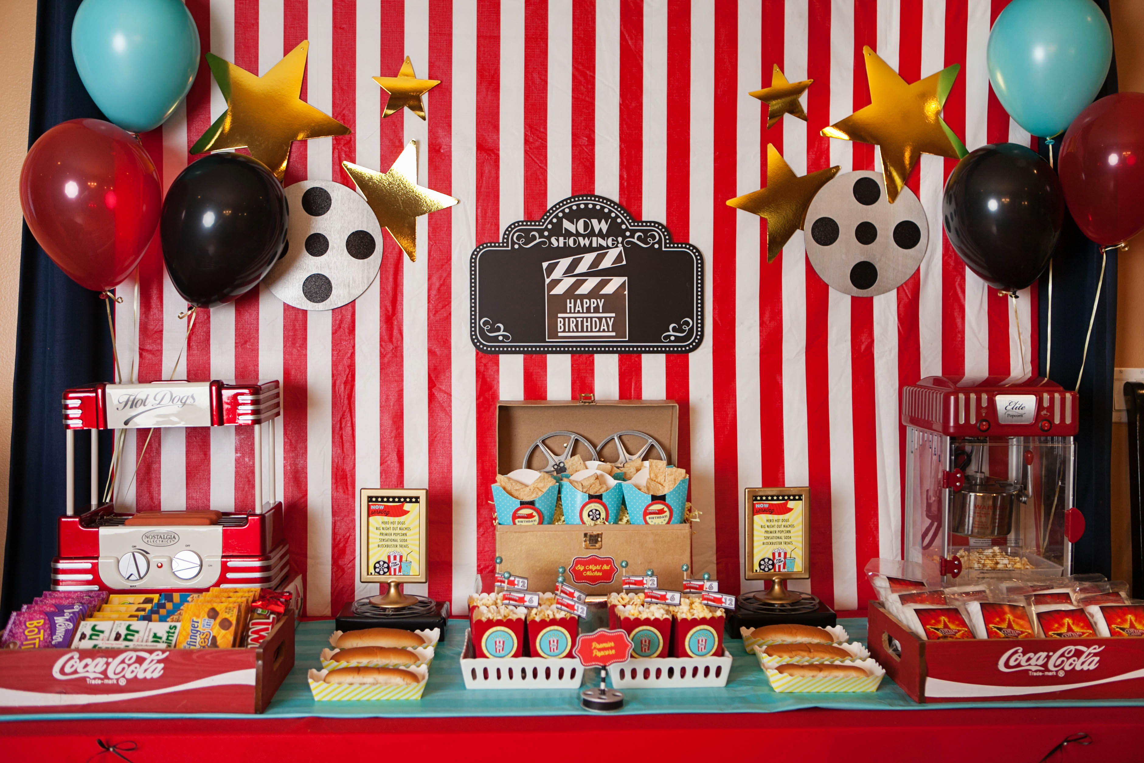 A Hollywood Movie Party Feature On Anders Ruff Custom Designs