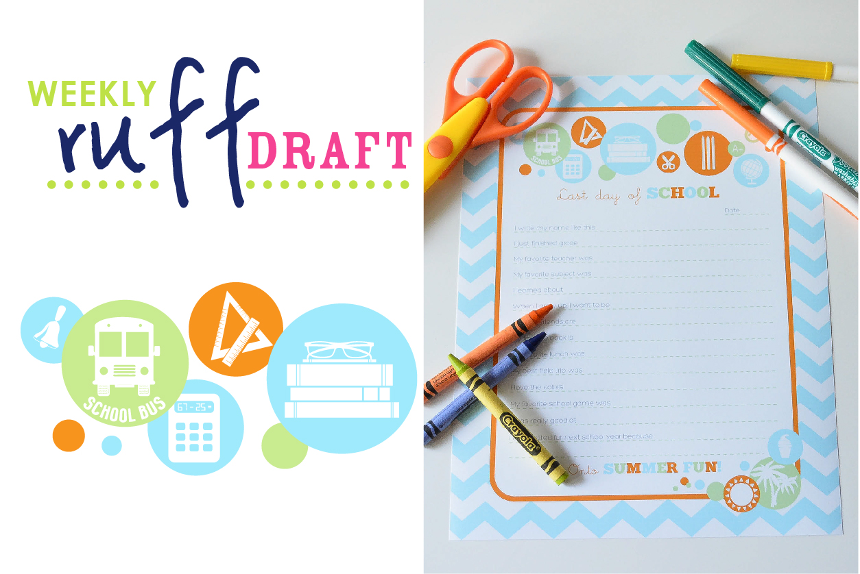 Ruff Draft Free Printable