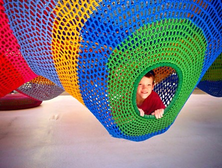 hakone open air museum play structure