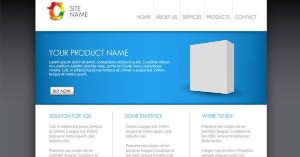homepage templet