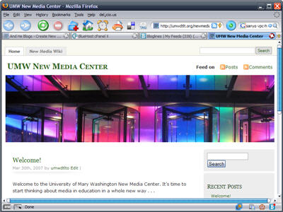 UMW New Media Center