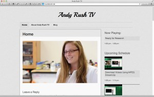Andy Rush TV