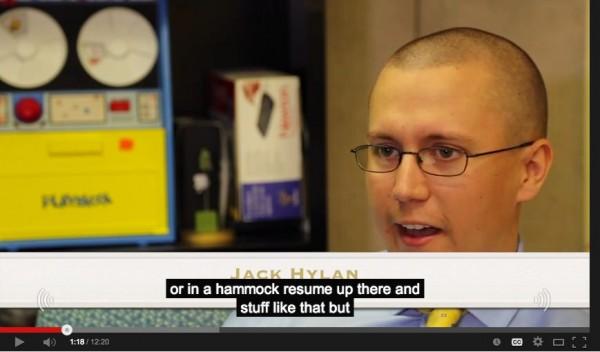 hammock resume