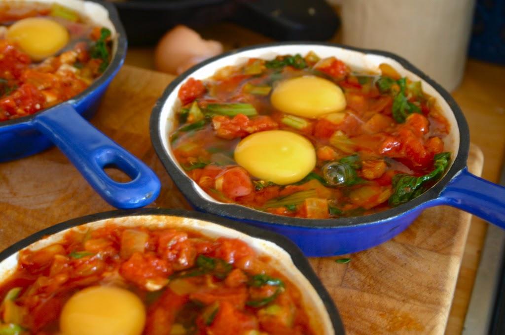Shakshukah Eggs