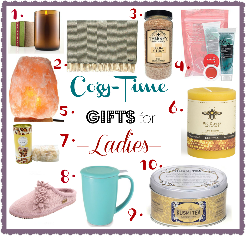 Cozy-Time Gifts for Ladies!