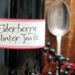 How to Make Elderberry Winter Tonic