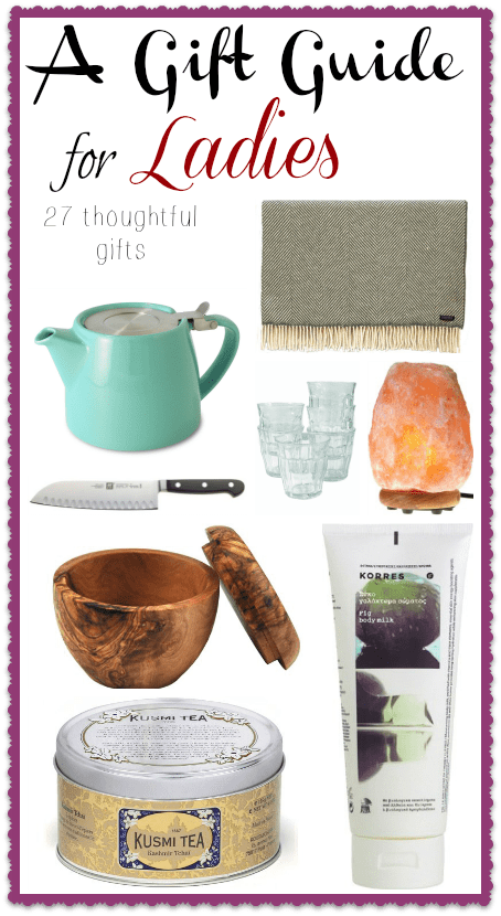 Gift Guide for Ladies Vertical