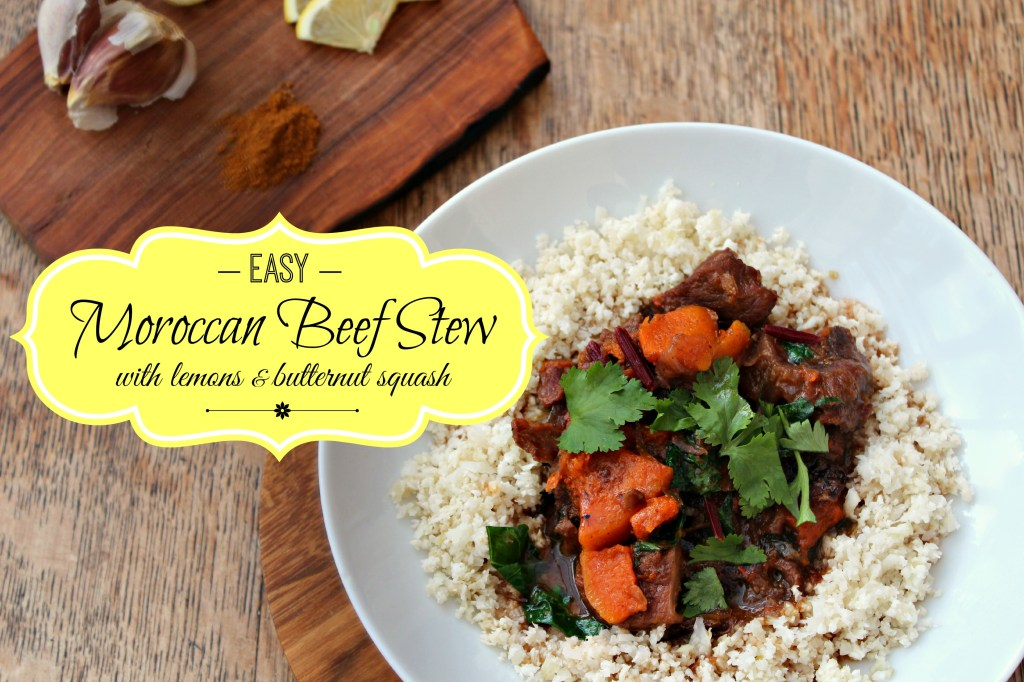 Easy Moroccan Beef Stew