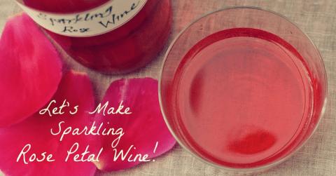 Sparkling-Rose-Petal-Wine