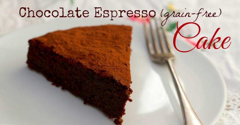Chocolate Espresso Cake (Grain-free)