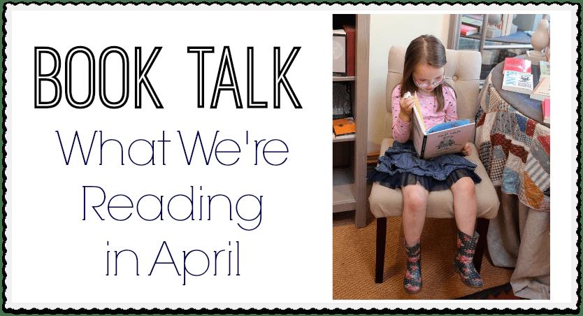 Book Talk April