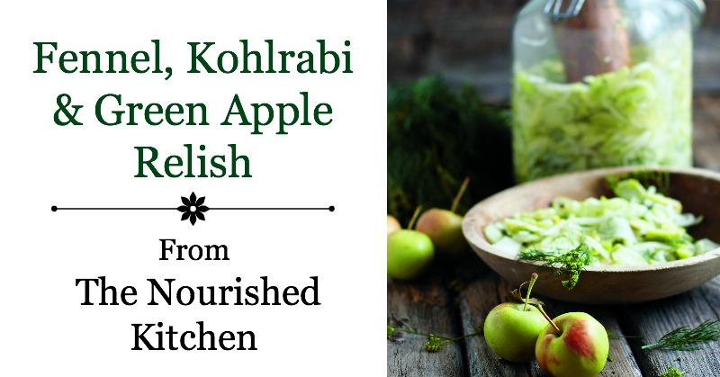 Fennel, Kohlrabi & Green Apple Relish