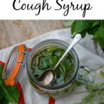 How to make a natural sage cough syrup