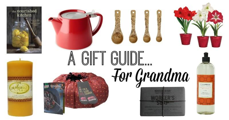 A Gift Guide for Grandma
