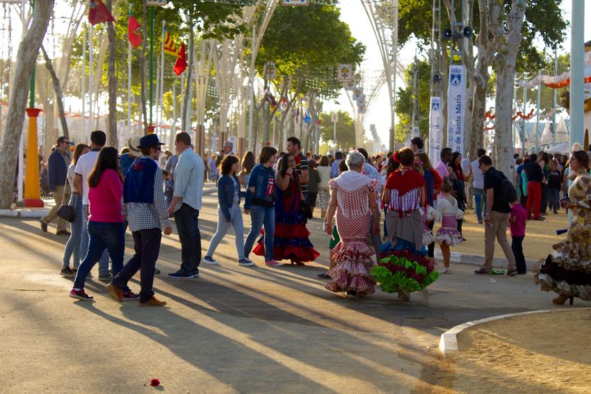 Feria in El Puerto